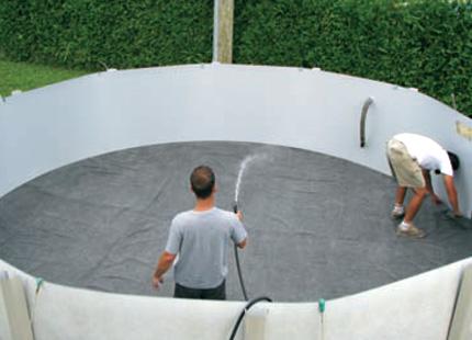 Piscines cousineau quipements et accessoires for Installer une piscine hors terre