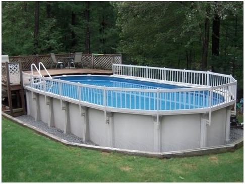 Chauffe piscine 21 pieds for Cloture pour piscine hors terre